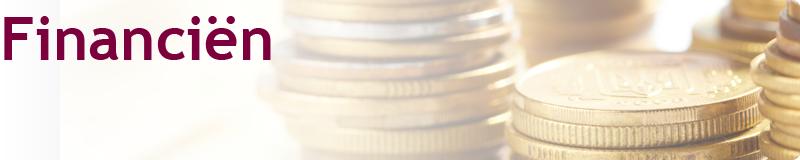 Homepage banner Financiën
