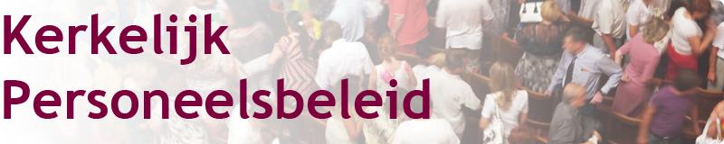 Homepage banner Kerkelijk Personeelsbeleid